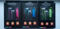 Светящиеся наушники Glow El lights. Под заказ