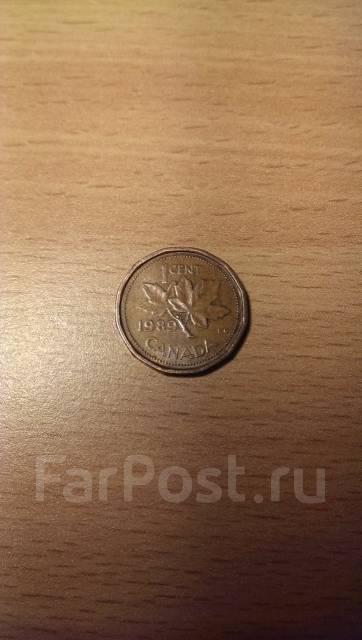 1 цент 1989 Canada