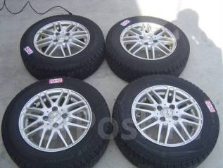 Литые диски R14 с зимними шинами 175/70R14 86Q Dunlop DSX. 5.5x14 4x100.00 ET40