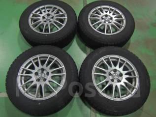 Комплект литых дисков R15 с зимними шинами 195/65R15 Bridgestone GZ. 6.0x15 5x100.00 ET45. Под заказ