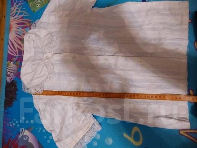 Блузки школьные. Рост: 128-134, 134-140 см