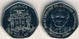 Ямайка 1 доллар 2006 год