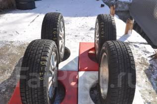 Goodyear Ice Navi Zea II. Зимние, без шипов, 2015 год, износ: 100%, 4 шт
