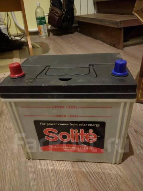 Solite. 70 А.ч., левое крепление, производство Корея