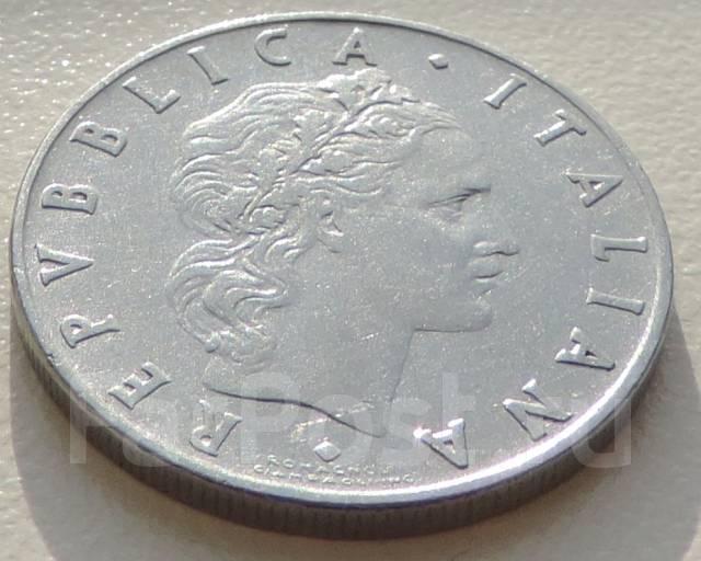 50 лир. Италия 1955