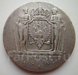 1 талер 1809 года. Серебро. Пруссия. Под заказ!