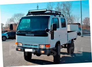 Atlas. Мостовой 4х4 Nissan , 3 200 куб. см., 1 250 кг.