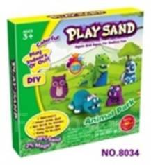 "Набор для лепки ""Play Sand"" Парк животных"