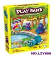 "Набор для лепки ""Play Sand"" Веселый зоопарк"