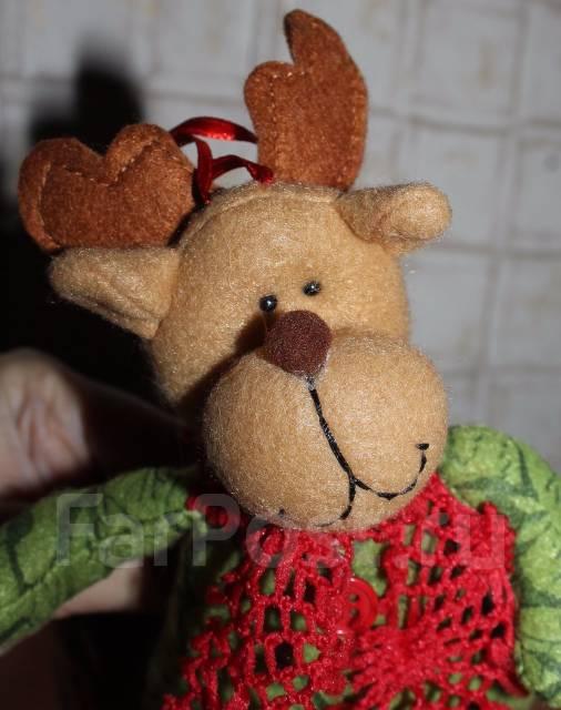 Малыш Новогодний оленёнок. Hand Made. новый