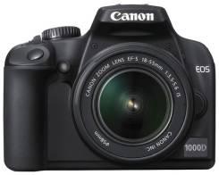 Canon EOS 1000D Kit. 10 - 14.9 Мп, зум: 3х