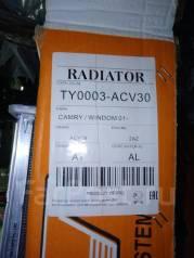 Радиатор охлаждения двигателя. Toyota Solara, ACV30 Toyota Camry, ACV36, ACV35, ACV31, ACV30, ACV30L Двигатели: 2AZFE, 1AZFE