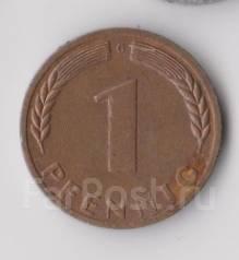 1 пфенниг 1970г. (G) ФРГ