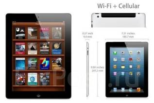 Apple iPad 4 Wi-Fi+Cellular 64Gb