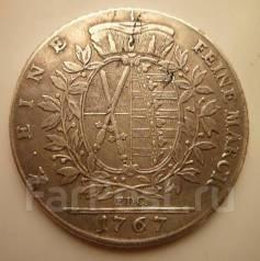1 талер 1767 года. Серебро. Саксония. Под заказ!