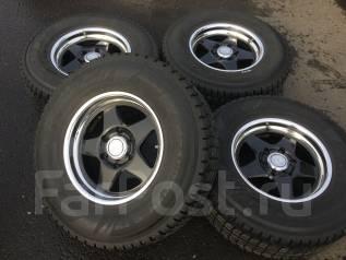 265/70R16 Dunlop SJ7 на литье Weds. В пути из Японии (Х088). 8.0x16 6x139.70 ET25 ЦО 110,0мм. Под заказ