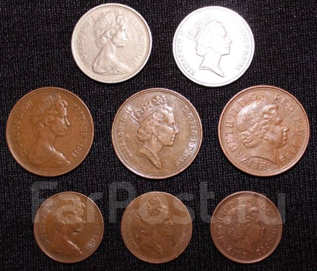 Великобритания. Подбор монет без повторов