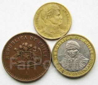 Чили. Подбор монет без повторов