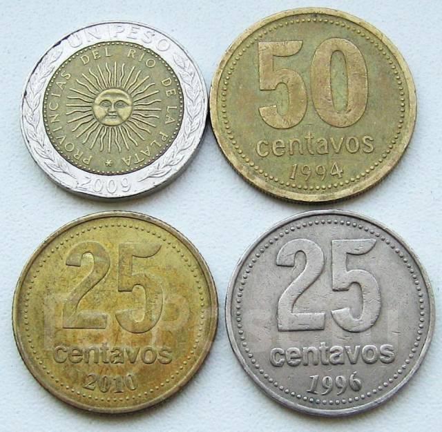 Аргентина. Подбор монет без повторов