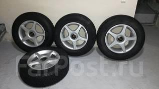 Комплект колёс 215/70R16 Bridgestone. 7.0x16 5x100.00, 5x114.30 ET35 ЦО 66,1мм.