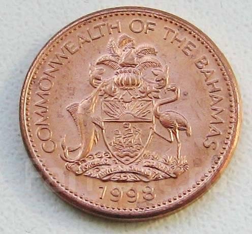 Багамы. 1 цент 1998 г