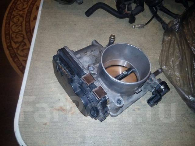 Заслонка дроссельная. Subaru Outback Subaru Legacy, BL, BP5 Subaru Forester, SG9 Двигатель EJ255