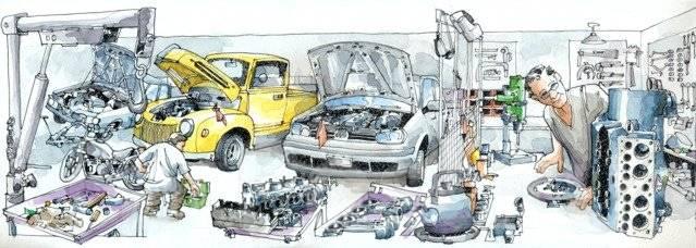 Авторемонт. Япония и отечественные автомобили. Контрактные запчасти.