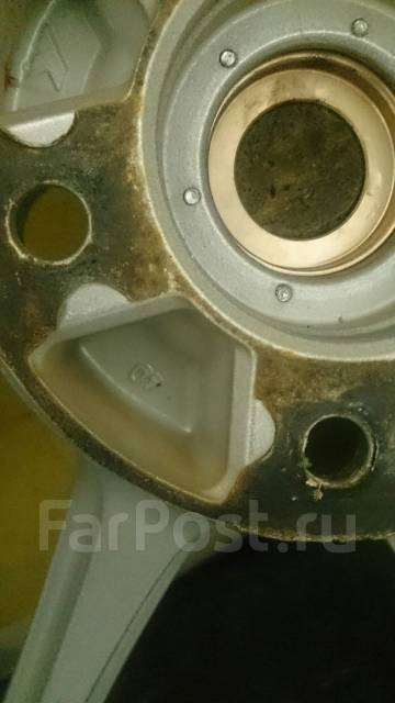 Разно широкое литье AVS Model 7 плюс резина. 9.0x17 5x114.30 ET40