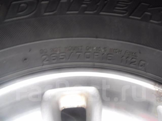 Продам комплект колес. 7.0x16 6x139.70 ET15 ЦО 105,0мм.