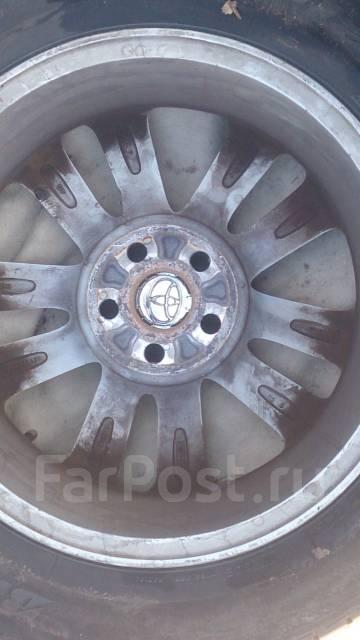 Комплект колёс на Toyota. 6.0x16 5x100.00 ET45