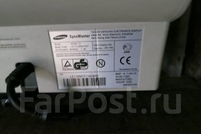 "Samsung SyncMaster. 17"" (43 см), технология CRT (ЭЛТ)"