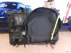 Радиатор охлаждения двигателя. Toyota Crown, GS171 Двигатель 1GFE