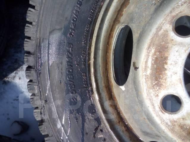 Bridgestone Blizzak W965. Зимние, без шипов, 2005 год, износ: 10%, 6 шт