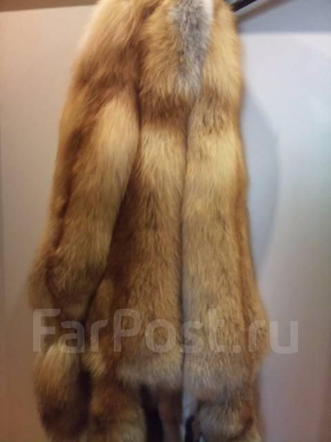 Продам мех рыжей лисы