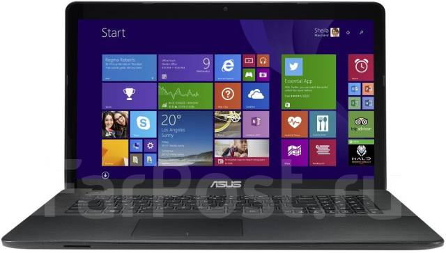 "Asus. 17.3"", 2,2ГГц, ОЗУ 6144 МБ, диск 1 000 Гб, WiFi, Bluetooth, аккумулятор на 2 ч."