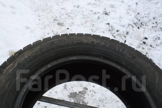 Toyo Winter Tranpath MK3. Зимние, без шипов, износ: 10%, 2 шт