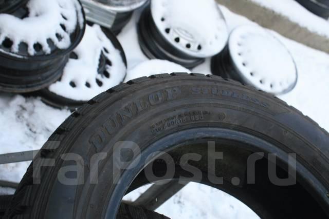 Dunlop Graspic DS1. Зимние, без шипов, износ: 10%, 2 шт