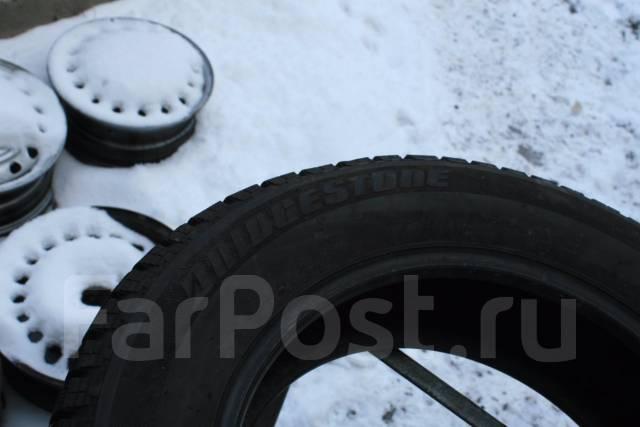 Bridgestone Blizzak Revo GZ. Зимние, без шипов, износ: 10%, 2 шт