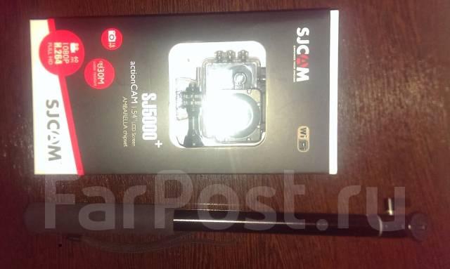 SJCAM SJ5000 Plus. 15 - 19.9 Мп, с объективом