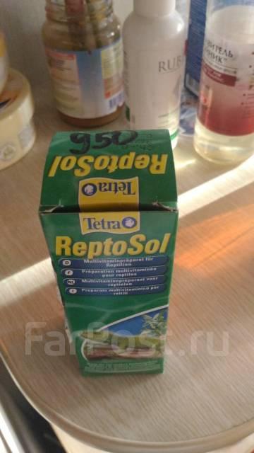 Рептосол tetra reptosol витамины для рептилий