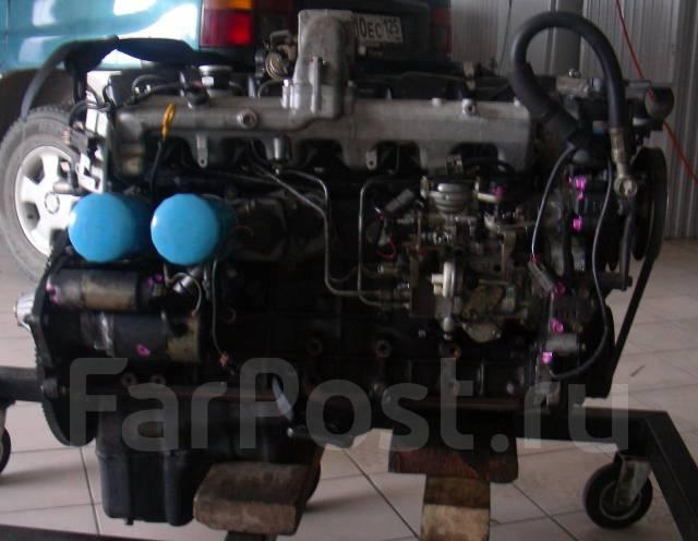 Двигатель. Nissan Safari, WRGY61 Двигатель TD42T