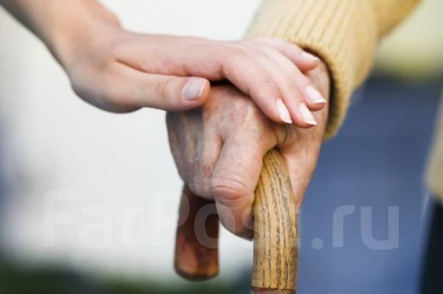 Помощь пожилым людям. Сиделка