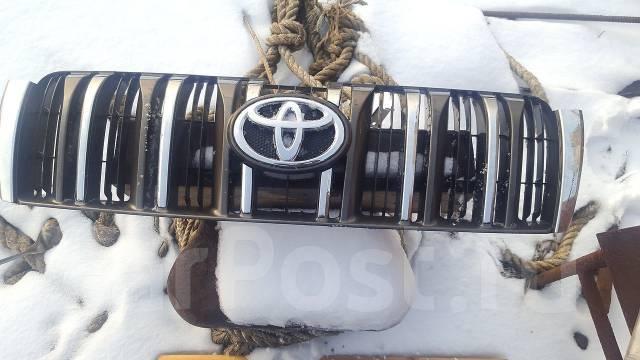 Решетка радиатора. Toyota Land Cruiser Prado, GDJ150L, GDJ150W