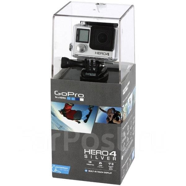 GoPro HERO4. 10 - 14.9 Мп, с объективом