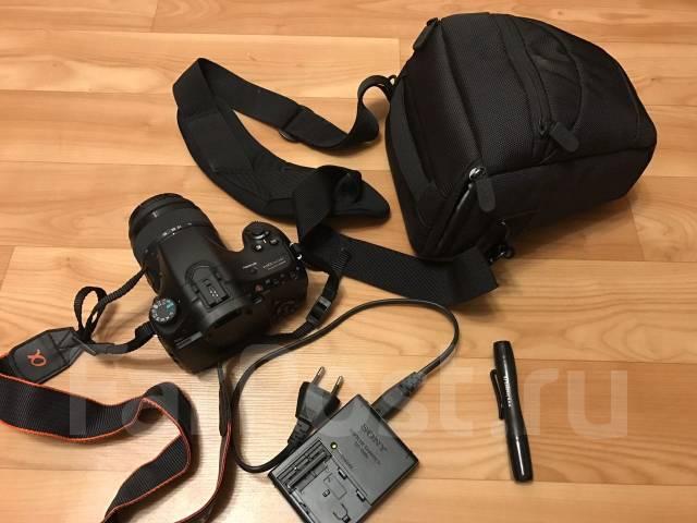 Sony Alpha SLT-A65 Kit. 20 и более Мп, зум: 3х