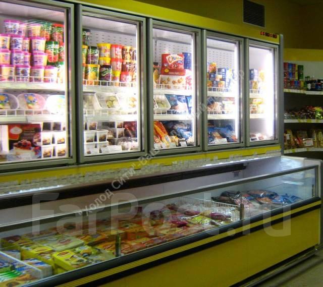 Для магазина самообслуживания (морозильные бонеты, горки холодильные)