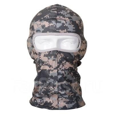Маска Балаклава для защиты лица от ветра и холода