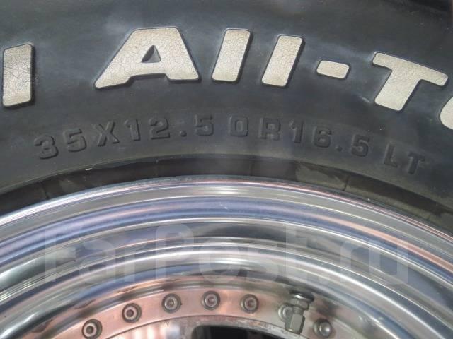 Raguna Zzyzx R16,5, ET(-27), 9,75J + резина 35/12,5R16.5 LT б/п по РФ. 9.75x16.5 6x139.70 ET-28 ЦО 108,0мм.