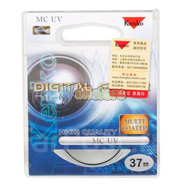 Фильтр на объектив kenko digital filter uv 37 mm. Для Sony, диаметр 37 мм