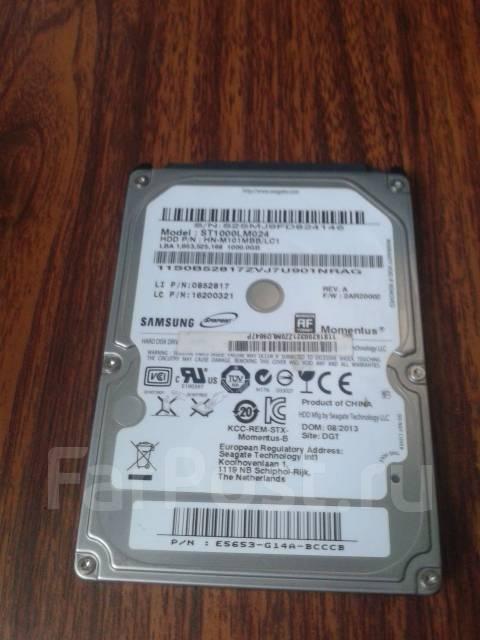 Жесткие диски 2,5 дюйма. 1 000 Гб, интерфейс SATA 3